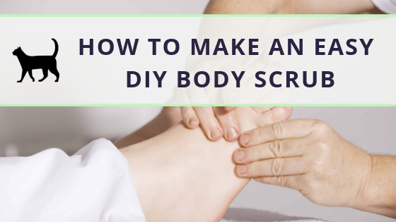 How to make an easy DIY exfoliating body scrub