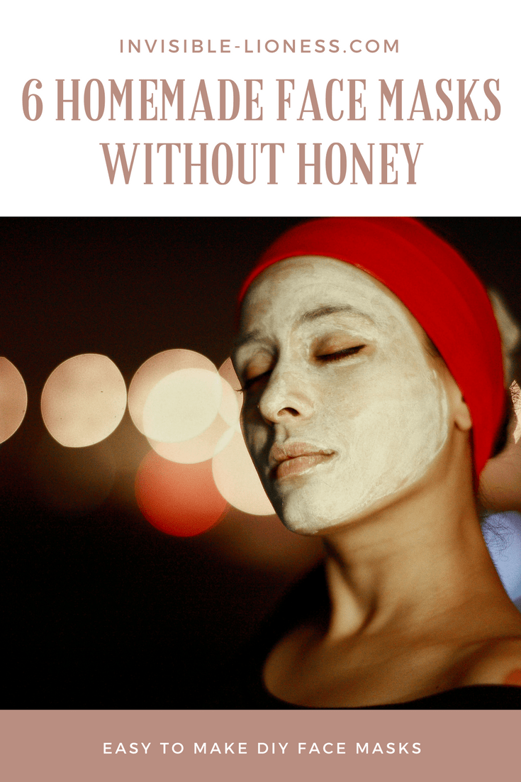 6 Homemade face masks without honey. These DIY beauty recipes are super easy to make.