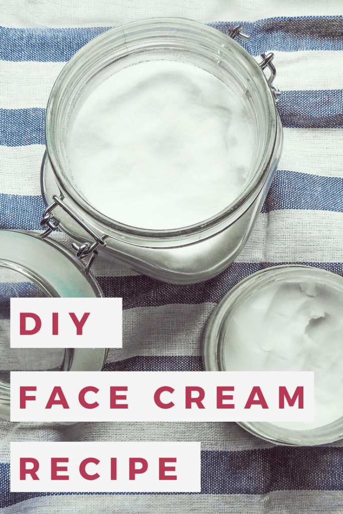 Looking for DIY face cream recipes? This homemade face cream is not only a great DIY Christmas present, it also works as a DIY cream for dry skin or oily skin, depending on which oil you use! #DIYbeauty #facecream #beauty #skincare #DIY