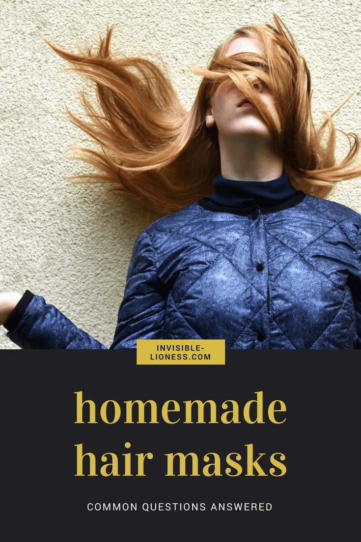 Homemade hair masks are a great way to deal with whatever might be bothering your hair right now. Dry hair? Damaged hair? There is a DIY hair mask for anything. Read my tips for sucess with your hair mask DIY!