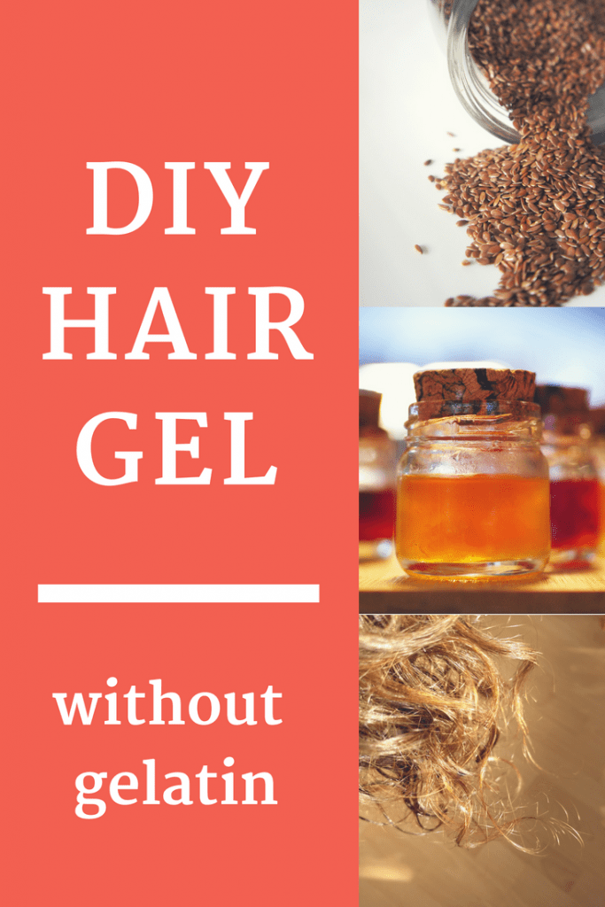 Looking for an all natural hair gel? This easy DIY hair gel recipe doesn't need much. And all ingredients are natural! Try it and make your own homemade hair gel!