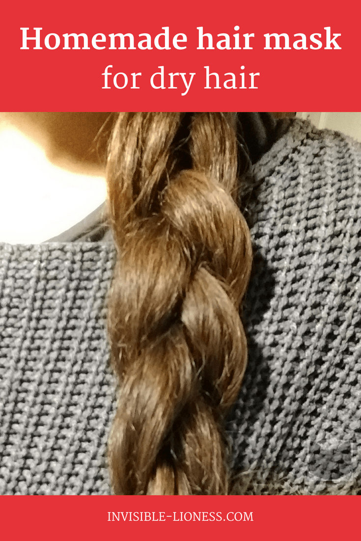 Homemade hair mask for dry hair