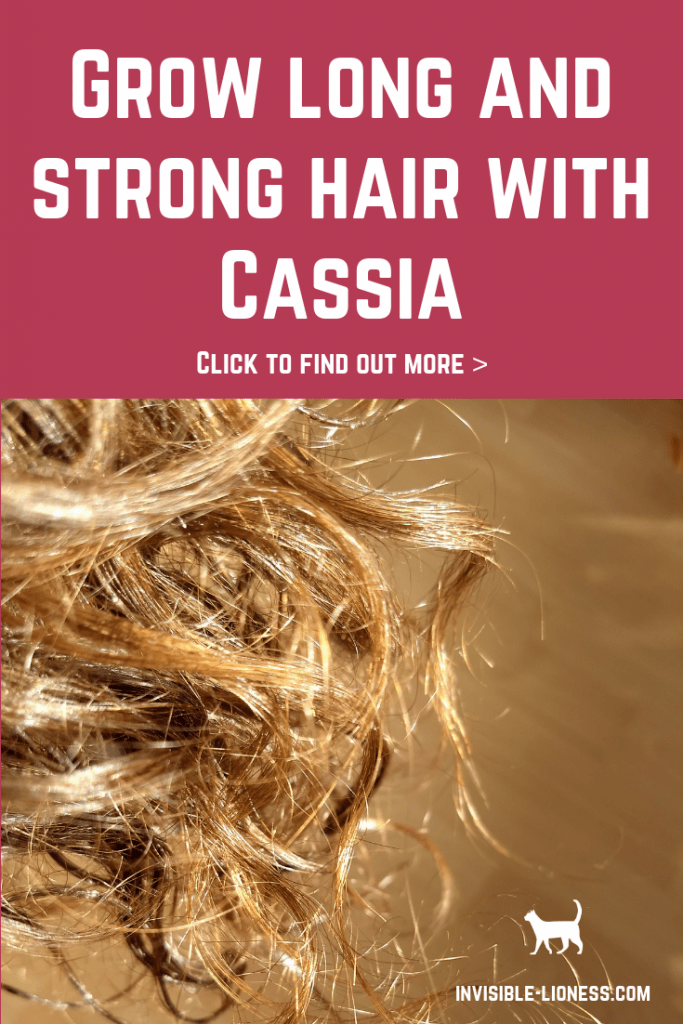 Do you want to grow long hair and are looking for strengthening hair treatments to prevent split ends and breakage? In that case you definitely want to check out Cassia for hair. This natural hair treatment will make your hair stronger and help you get more hair growth, as less is breaking off at the ends.