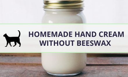 How to make a Homemade hand cream without beeswax