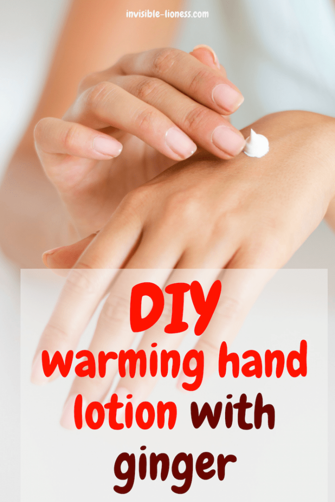 Got cold hands? Try this hand warming salve. With this recipe, you can easily make your own DIY hand warming lotion with ginger!