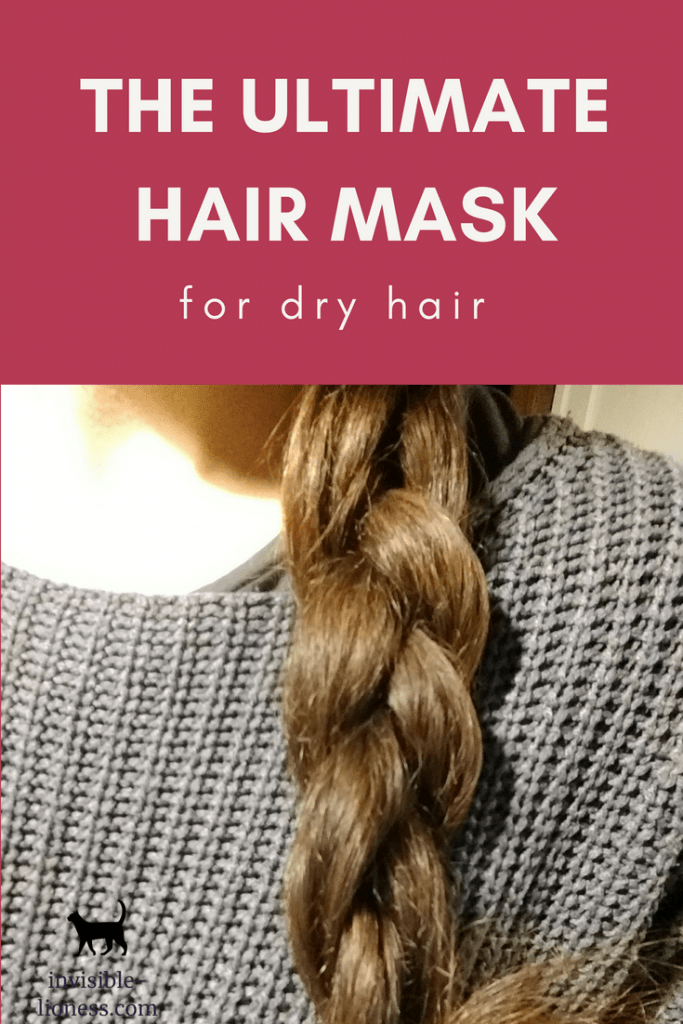 Looking for a DIY hair mask for dry hair? This homemade mask is the perfect little helper if you are struggling with dry and frizzy hair!