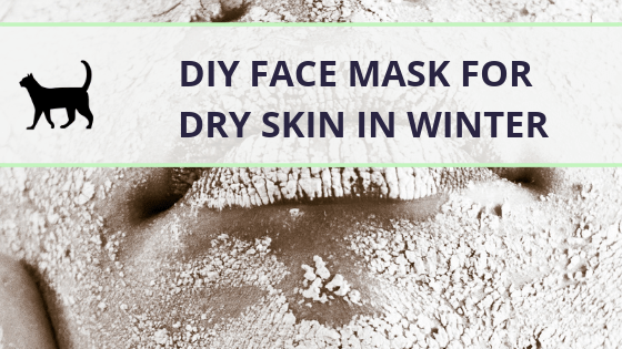 Try this easy homemade face mask for dry skin in winter!