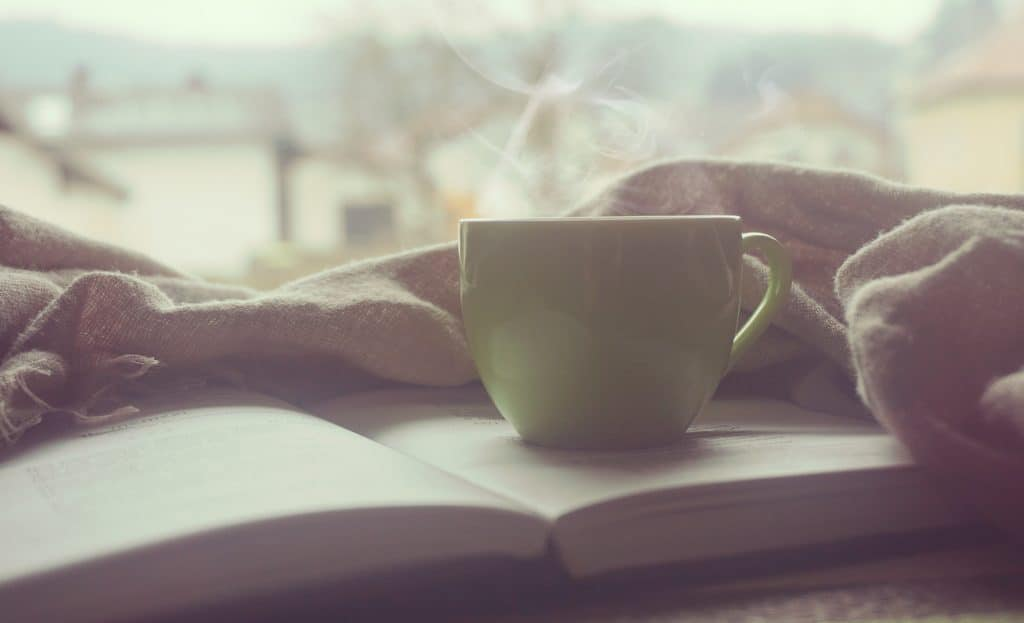 Creating a morning routine with beneficial habits like reading