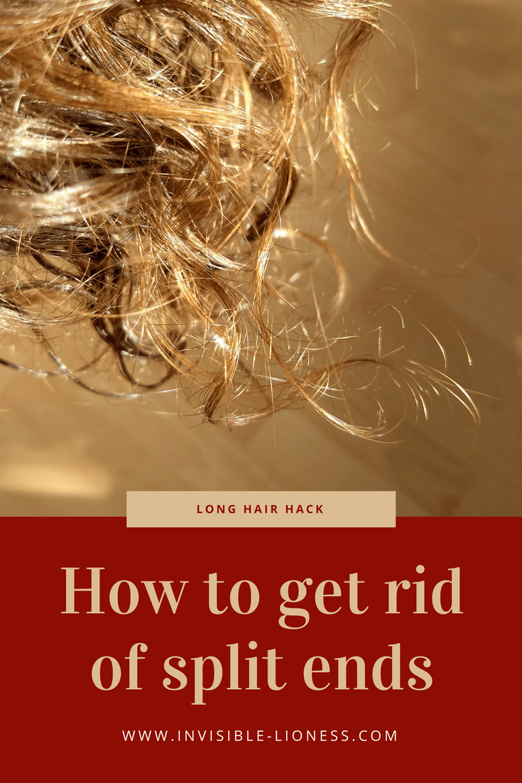Split ends are a major bummer when trying to grow long hair. I have been wondering how to get rid of split ends and came up with a solution. So if you are looking for a split ends remedy, check out my split end treatment!