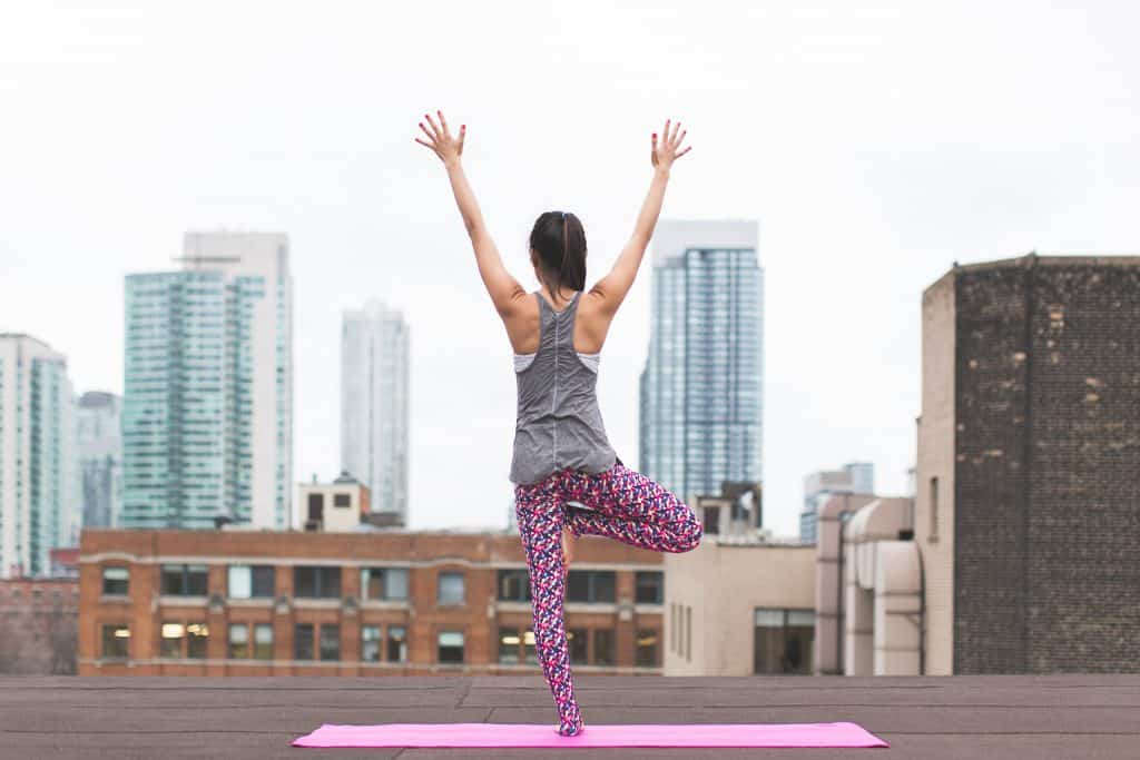 Woman doing Yoga: One way to fix your posture
