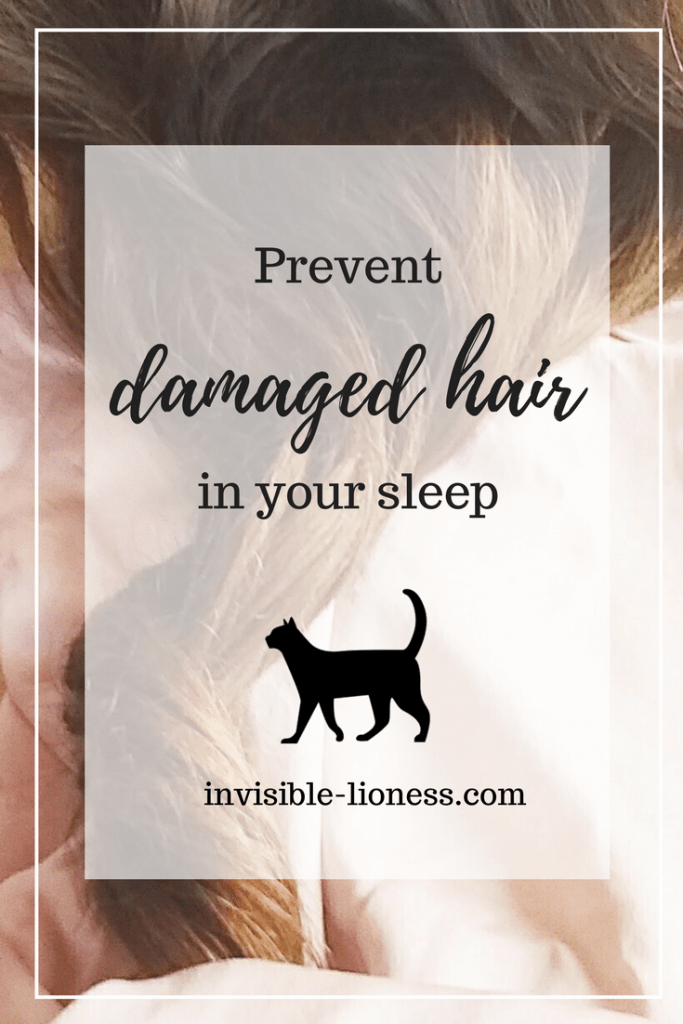 Damaged hair repair is your topic right now? If you feel like all the other tips are way too much hassle, check out my favorite way to prevent damaged hair. You can do it in your sleep!