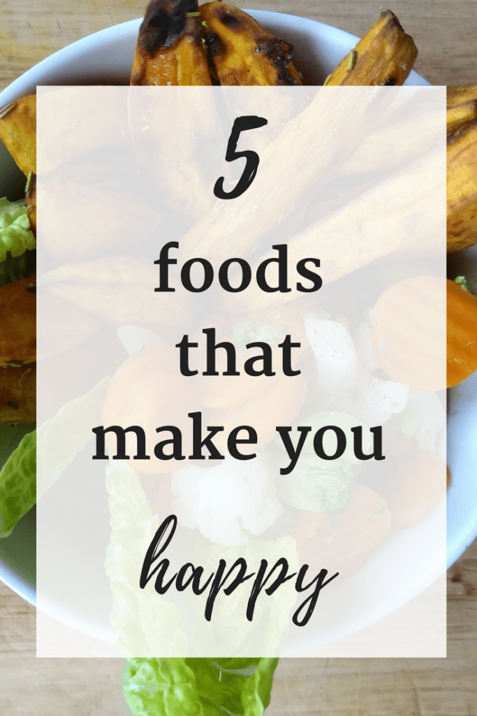 Feeling a little low? If you are in need of a #moodboost, try these 5 foods that make you happy!
