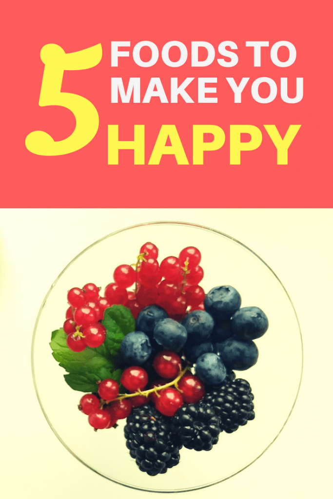 Want to be happier? It could be as easy as starting with your diet. Check out these 5 happy foods!