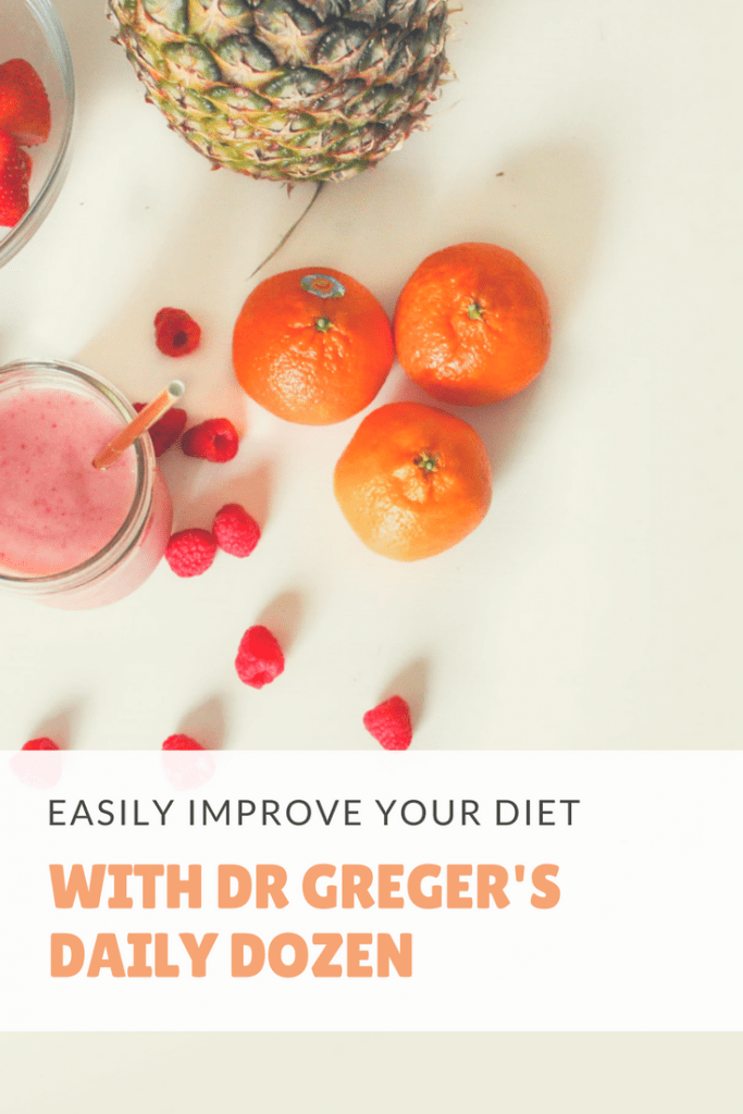 Do you sometimes wish you had a simple checklist of which foods to eat daily? Dr Greger's daily dozen offers that and makes improving your diet incredibly easy!