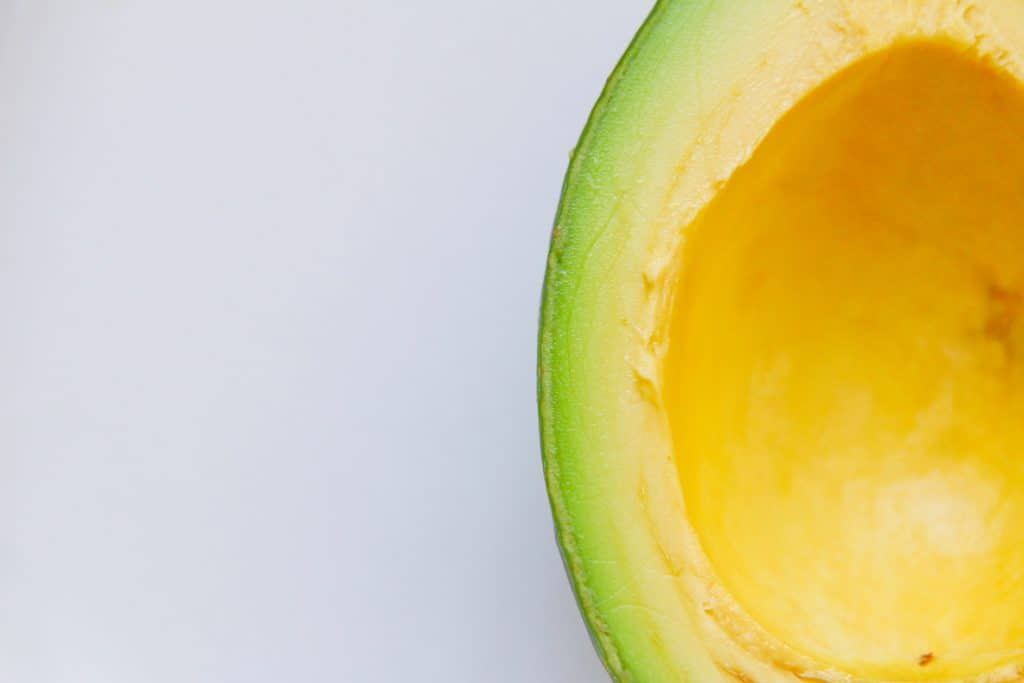 Avocado is a food that makes you happy and healthy
