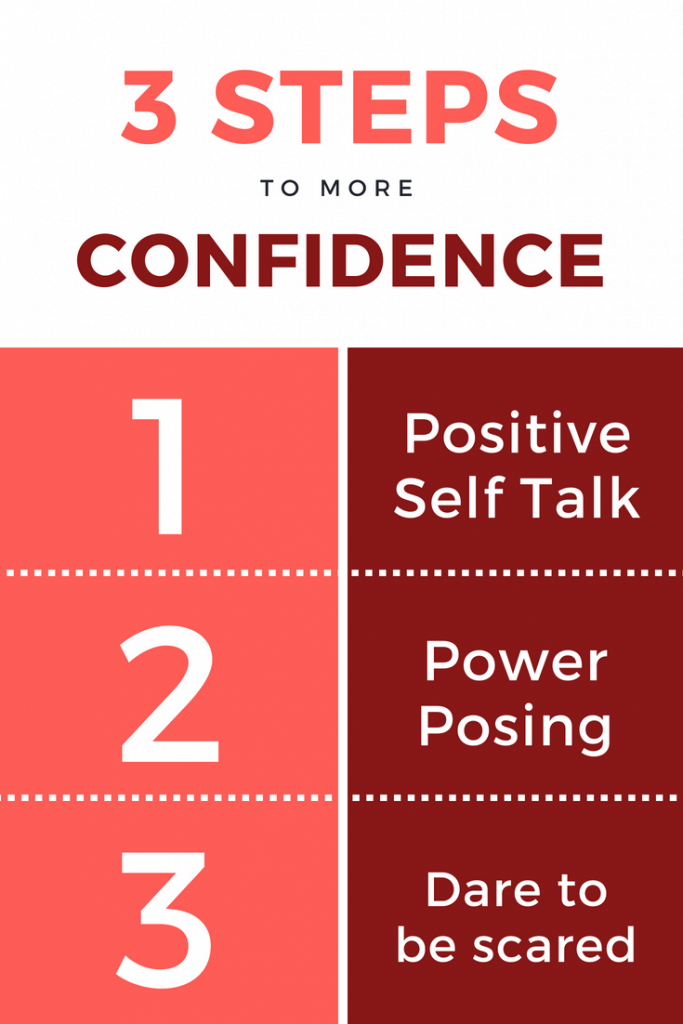 Confidence building doesn't have to be super complex. It is simple, but not necessarily easy. Check out these 3 tips on how to build confidence!