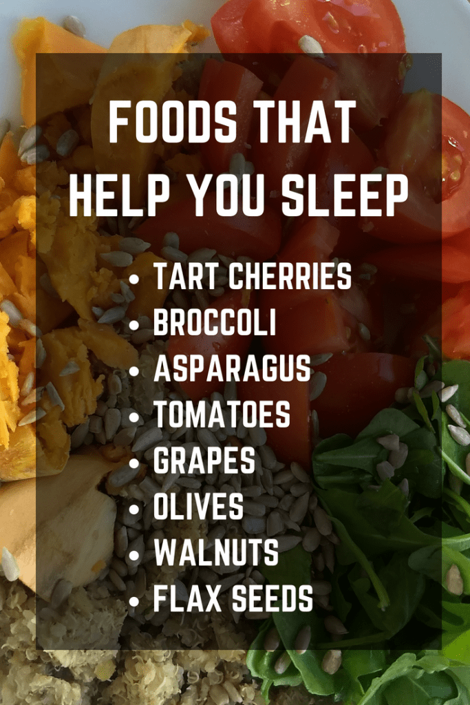 Check out these foods to sleep better!
