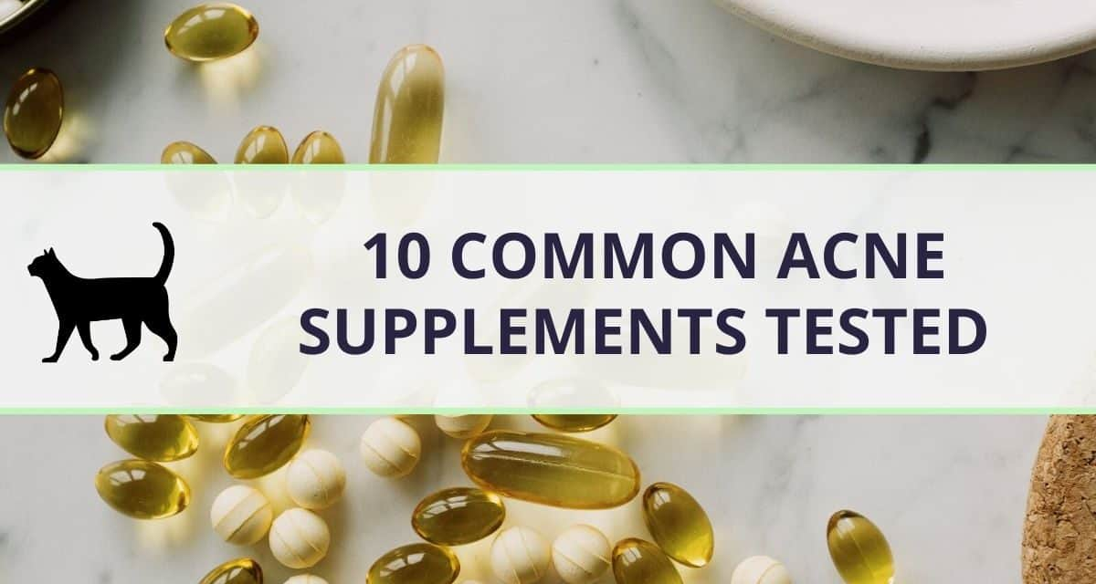 Popular supplements for hormonal acne tested