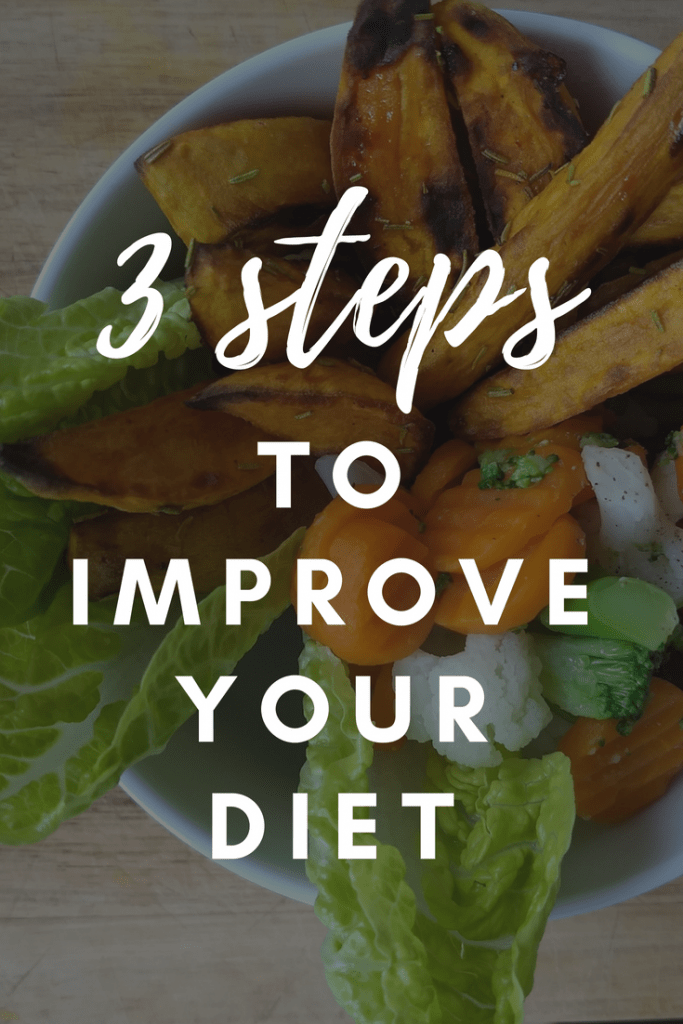 Always looking for healthy recipes? What if I told you that your usual recipes can easily be made into healthy food? With these 3 steps you can easily improve your diet - and your recipes! #healthyfood #healthyrecipes #healthyeating