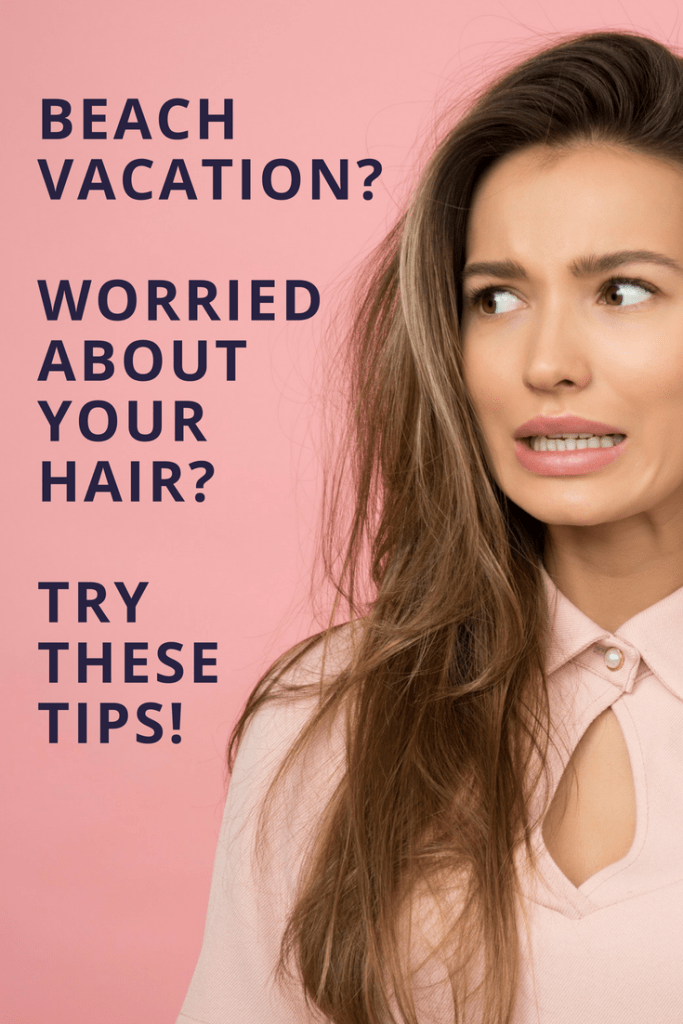 Are you worried about your hair getting sun damaged at the beach? These tips will help you protect your hair from frizzy beach hair!