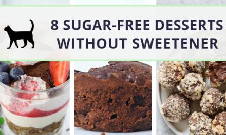 8 sugar-free desserts without artificial sweeteners. So yummy!