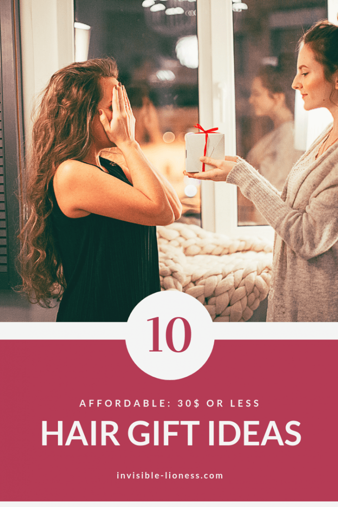 Need some hair gift ideas? This list has 10 ideas for presents for the hair lovers in your life. As the holidays are approaching, check it out and make sure you have all your Christmas presents in time!