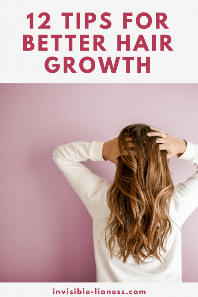 Looking for hair growth tips? These 12 tips show you how to make sure your hair stays healthy and can grow as fast as possible!