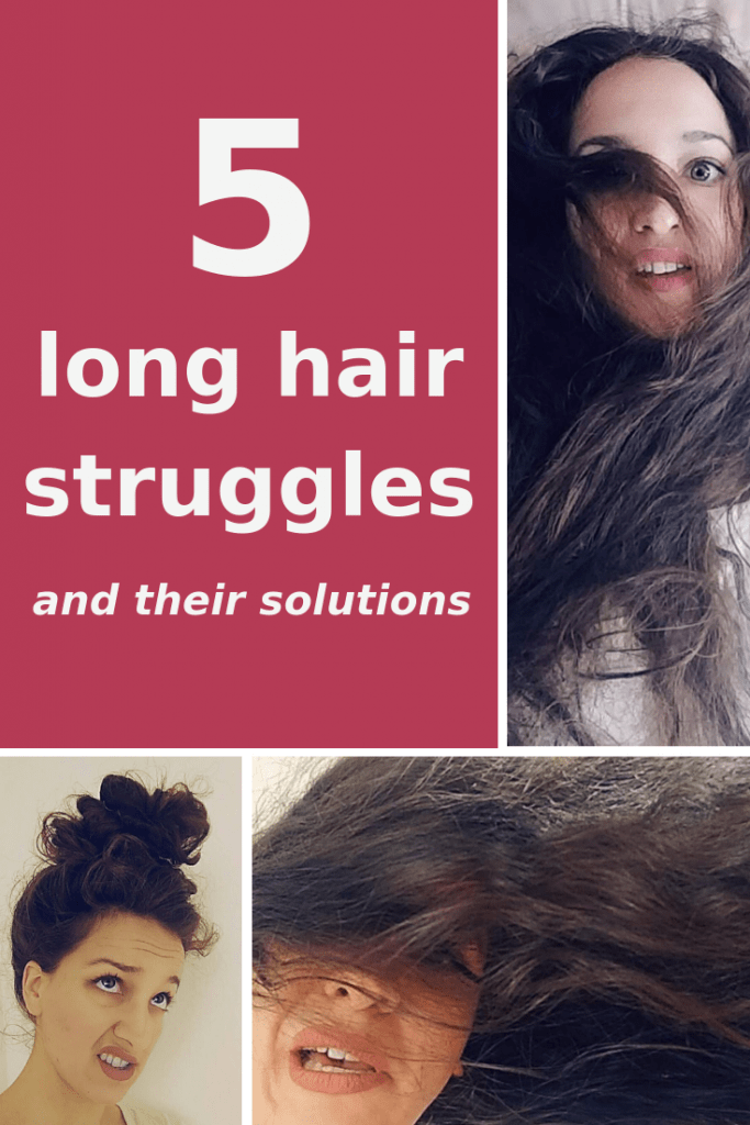 Do you have long hair? Then you probably know these 5 long hair struggles. Check out which ones they are and their solutions!