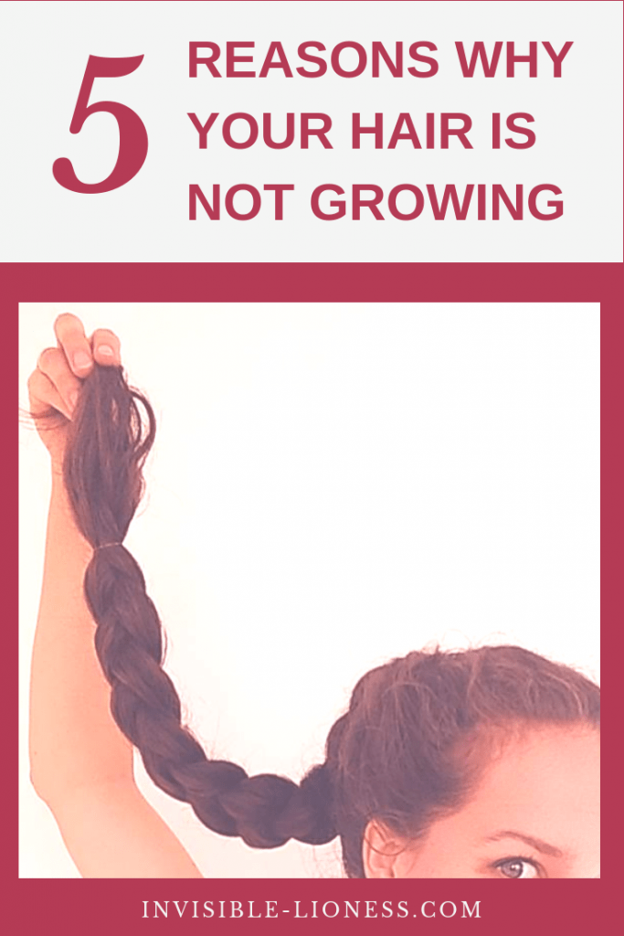 Why is my hair not growing? Is that the question you ask yourself everyday in front of the mirror? Then you should check out these 5 common reasons your hair stopped growing!