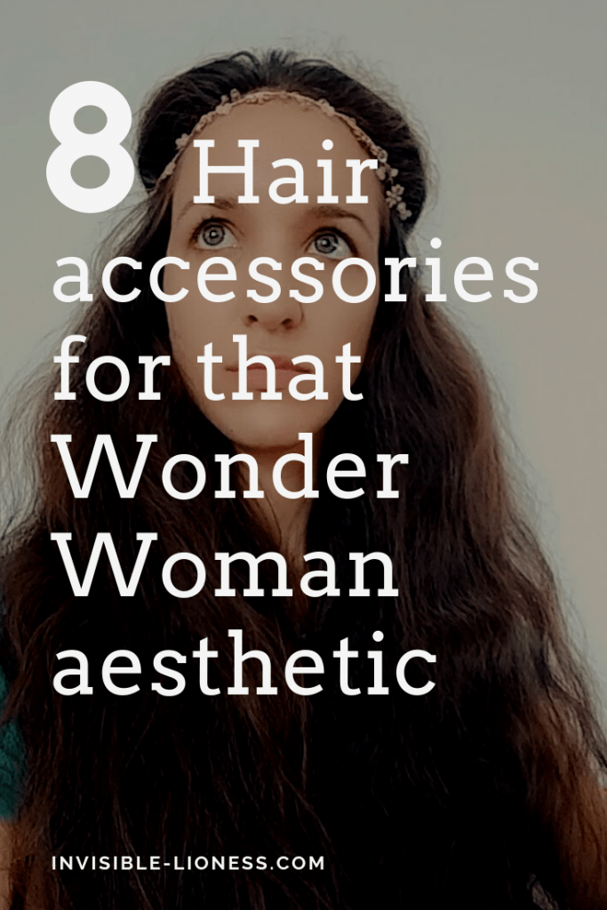 Do you love the Wonder Woman aesthetic as much as I do? Then these 8 hair accessories are perfect for you!