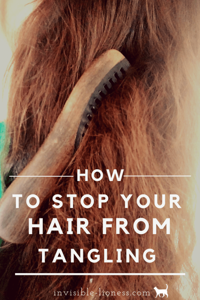 Want to know how to prevent hair tangles? If your hair tangles easily, these tips will help you figure out why your hair tangles all the time and how to stop this from happening!