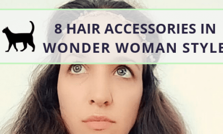 Look like Wonder Woman with these divine hair accessories