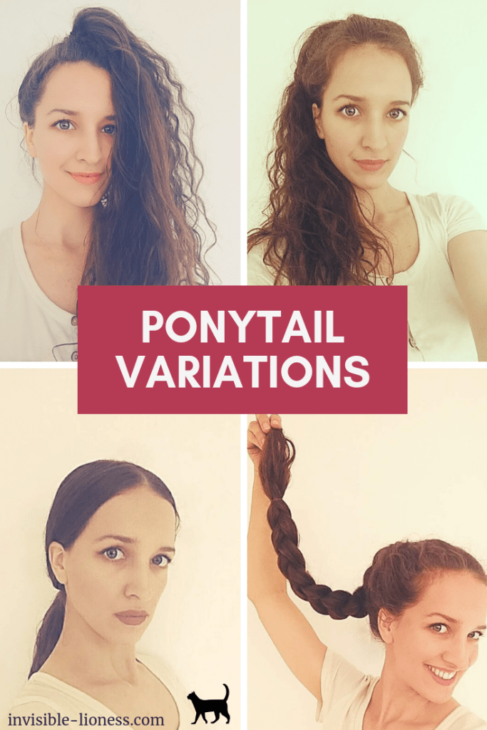 Bored with your plan old ponytail? Try one of these ponytail variations! No matter if you opt for the slicked-back look or the braided ponytail, it's good to try something new every now and then.