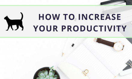 Learn how to increase productivity to reach your goals
