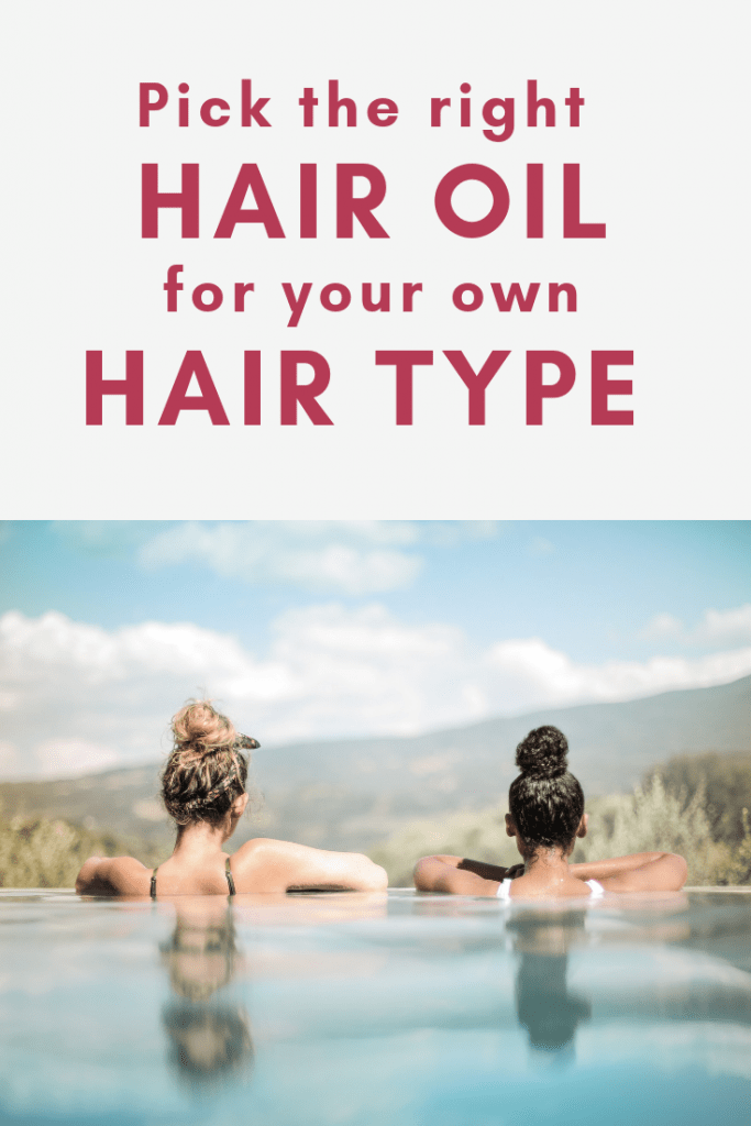 Not sure if to pick a hair oil for dry hair, for thin hair or for curly hair? Check out this guide to understand which hair oil works for which hair type and why!