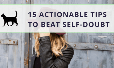 Actionable tips to conquer self-doubt