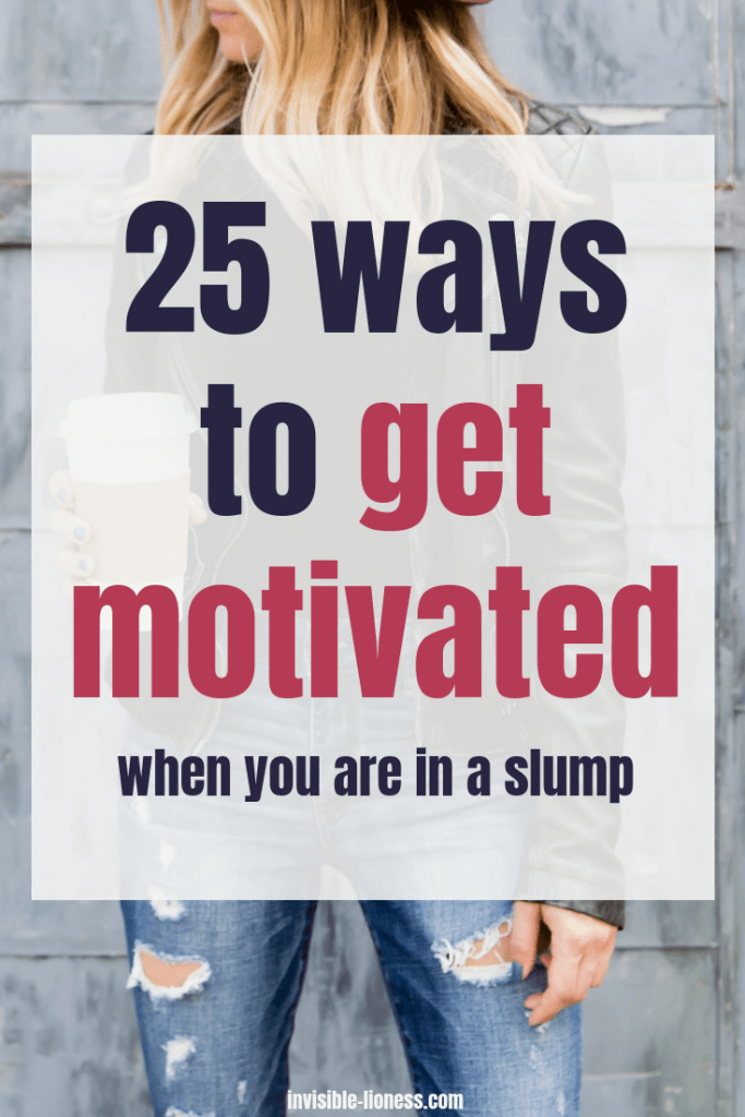 Wondering how to get motivated? No matter if you need motivation to workout, to clean or to tackle a big new project: These 25 tips to get motivated will help you get inspired!