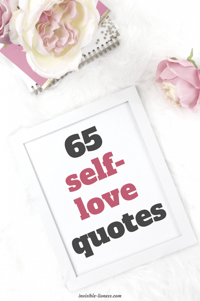 65 inspiring and uplifting self-love quotes.