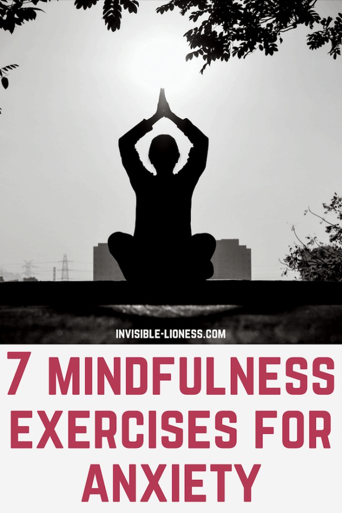 Anxious and stressed? Mindfulness can help with both stress and anxiety. Check out these 7 mindfulness exercises for anxiety and try them out!