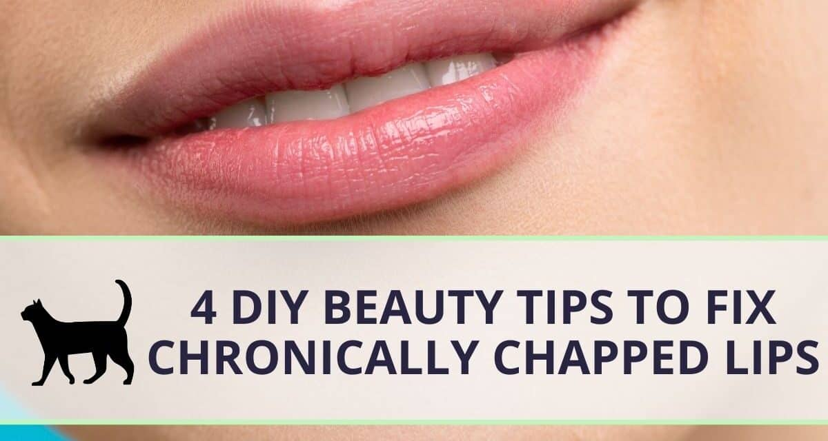 4 DIY beauty tips to deal with chronically chapped lips