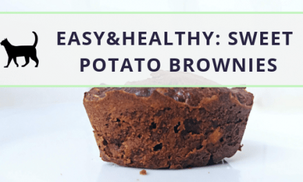 Easy sweet potato brownies: How to make them (sugar-free)