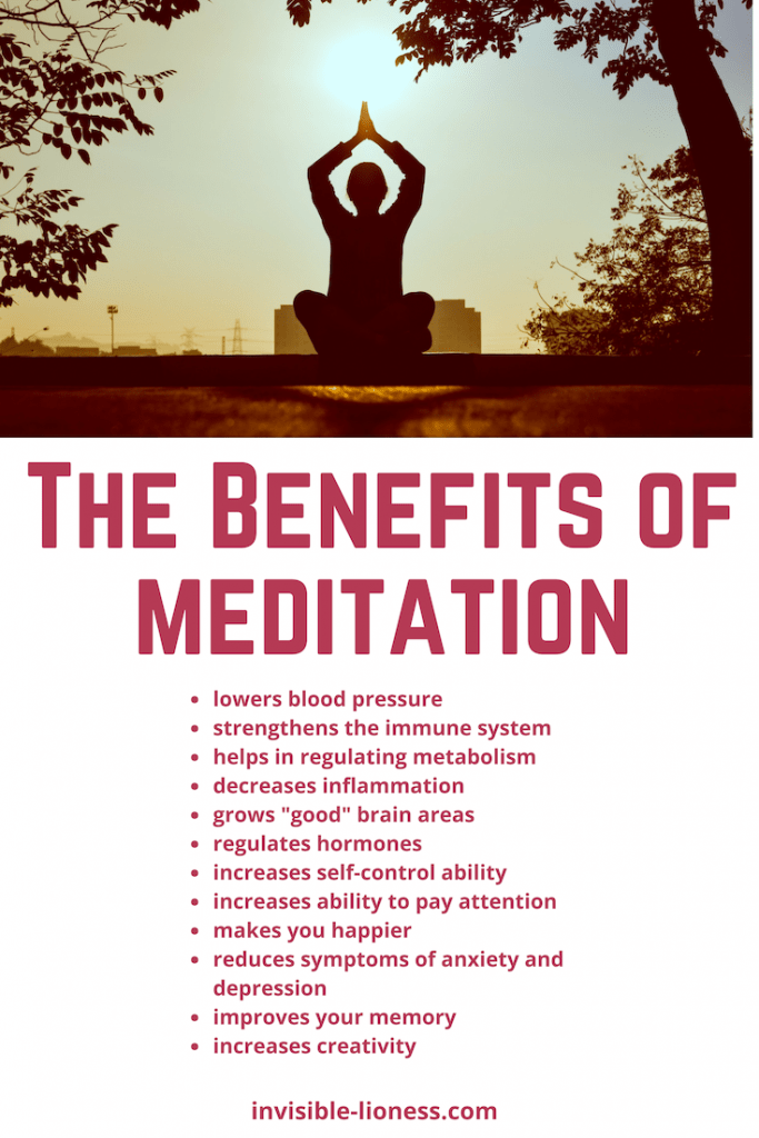 Interested in the benefits of meditation? See this list of well-studied meditation benefits!
