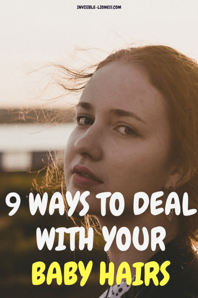Wondering how to tame your baby hairs? No matter if its new growth or simply short hairs around your temples and neck - these 9 ways will help you deal with those flyaways!