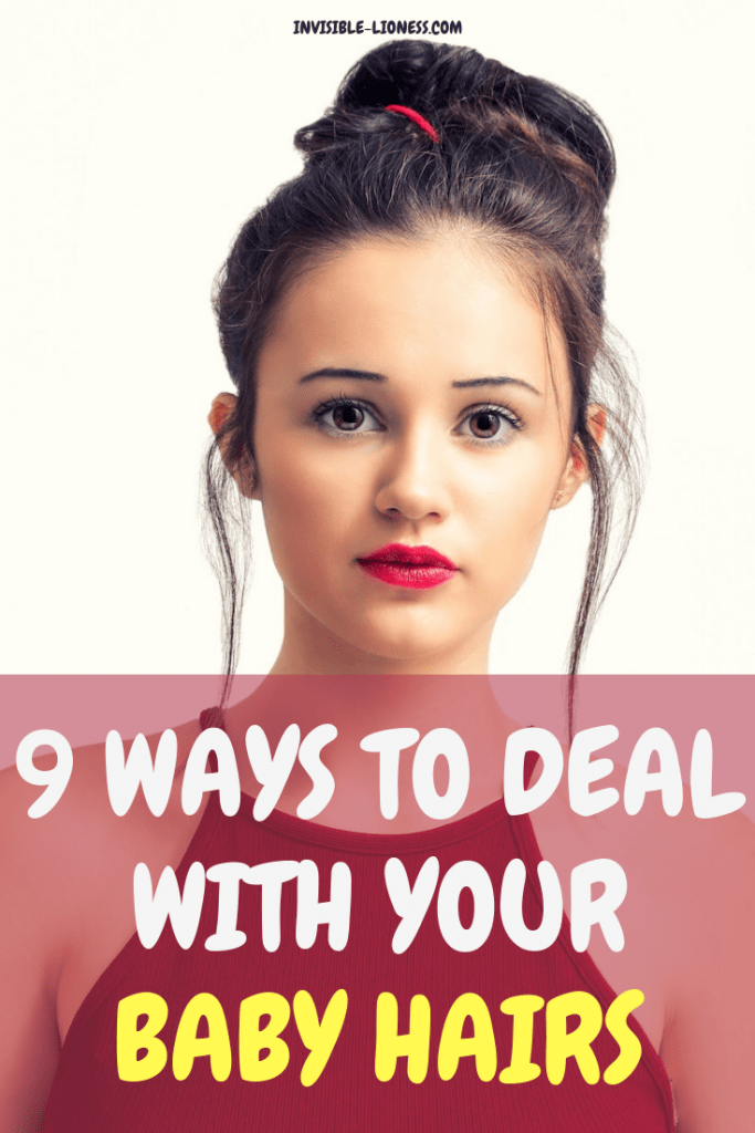 Are you wondering how to control your baby hairs? Don't worry, there are quite a few ways in which you can tame those stubborn flyaways. Find out which products you can use and which other ideas for dealing with baby hairs exist here!