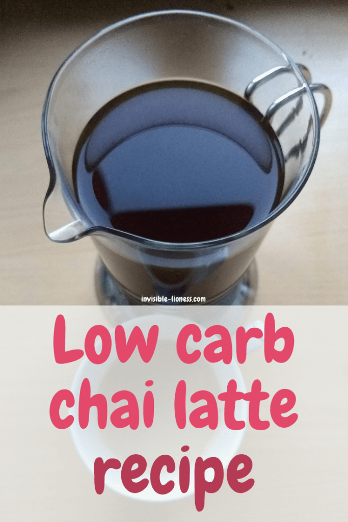 Chai latte doesn't need to be sugary. In fact, it can be really healthy. This simple low carb chai tea latte recipe is quick to make and let's you enjoy your very own homemade chai latte in no time!