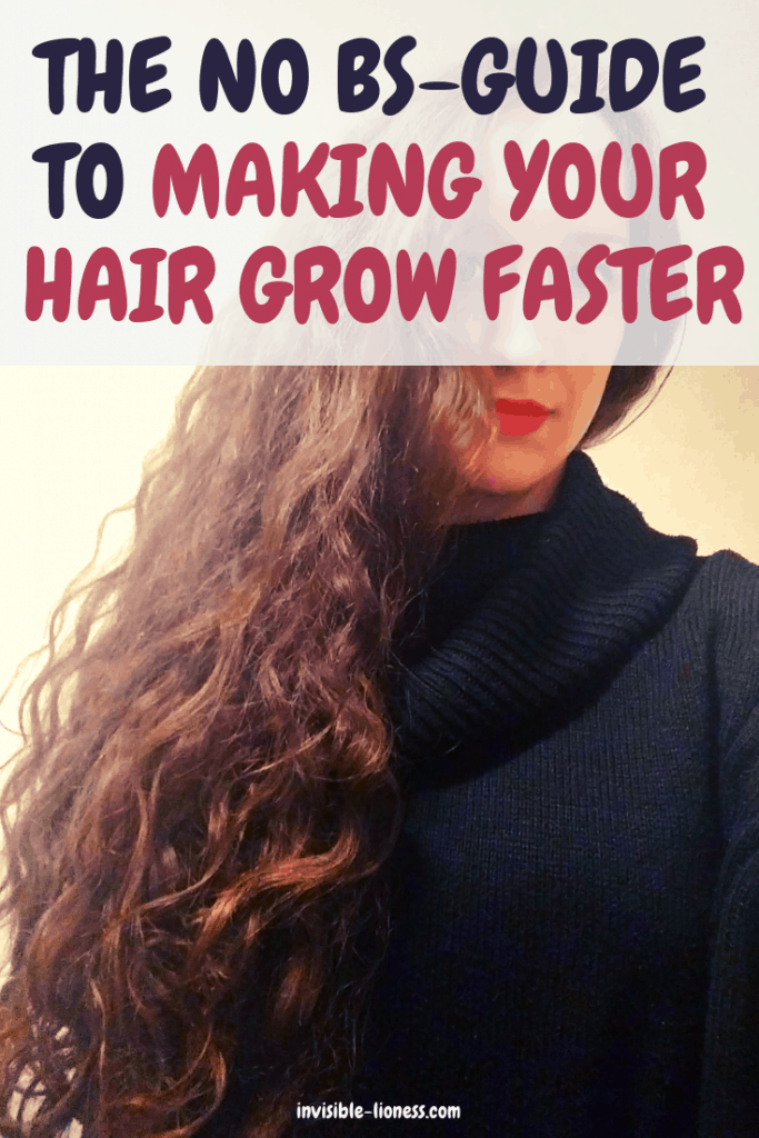 Are you trying to make your hair grow faster? Have you tried all kinds of hair growth products but they don't seem to work? Find out here what really works to grow hair faster - no BS, I promise!