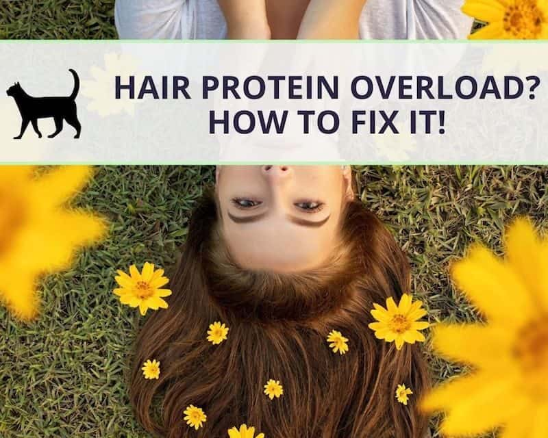 What to do when your hair suffers from protein overload