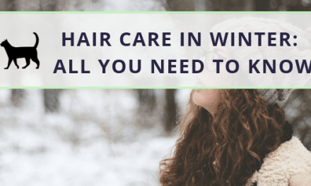 Here's how to do hair care in winter
