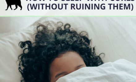 How to sleep with curls and not ruin them: 7 ways