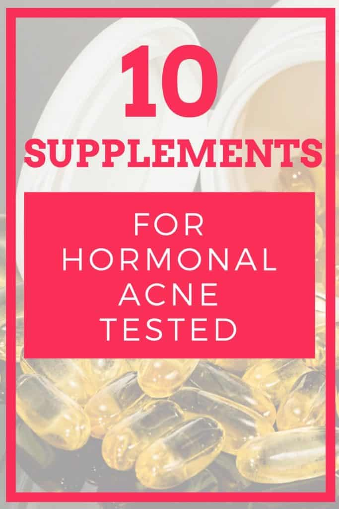 You want supplements for clear skin? I tested 10 popular supplements for hormonal acne and found out these things.
